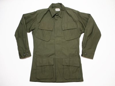 60's Vintage【US.ARMY】米軍 ビンテージ ジャングルファティーグジャケット 4th ミリタリー ジャケット(1801-113)◆Size:US-XS-R【DEADSTOCK】