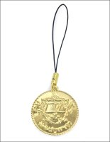 ローゼマイン工房紋章キーホルダー(ゴールド)