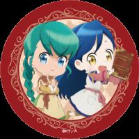 【イベントグッズ】本好きの下剋上 トレーディングマット缶バッジ