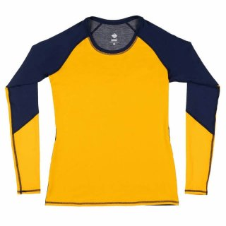 rabbit_women's slim sleeves Navy+Gold