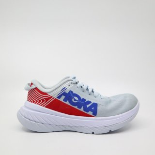 HOKA ONE ONE_CARBON X(W'sホワイト/レッド)