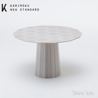 KARIMOKU NEW STANDARD カラーウッドダイニング120 (ドット)