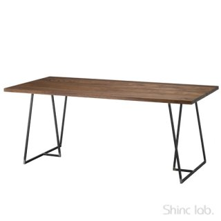 【WAXプレゼント付き!】<br>杉山製作所 クロテツ SUMI ダイニングテーブル 2000