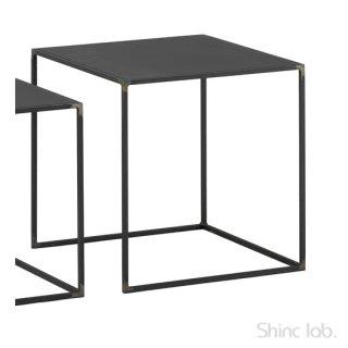 杉山製作所 クロテツ SHIN ネストテーブル 420 (鉄天板)