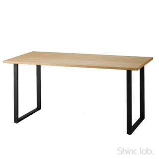 【WAXプレゼント付き!】<br>杉山製作所 CoFe SQUARE ダイニングテーブル 1600/850 (ホワイトオーク)