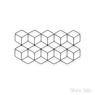 杉山製作所 Fe ウォールデコ 2×5