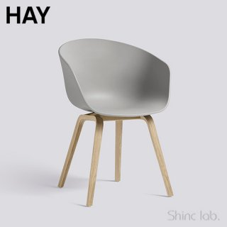 HAY AAC 22 ABOUT A CHAIR Concrete grey