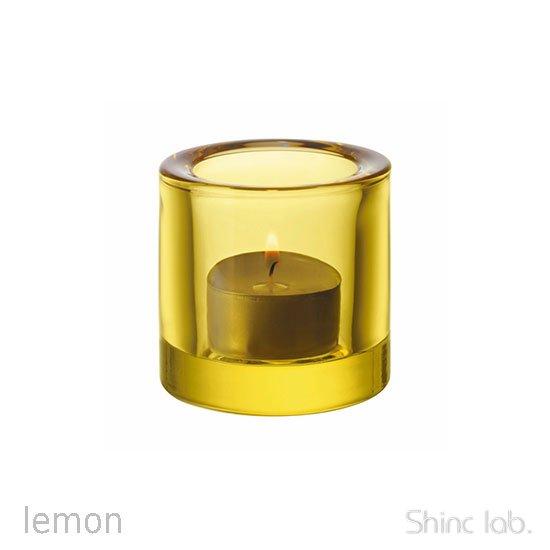 iittala Kivi キャンドルホルダー 60mm Lemon