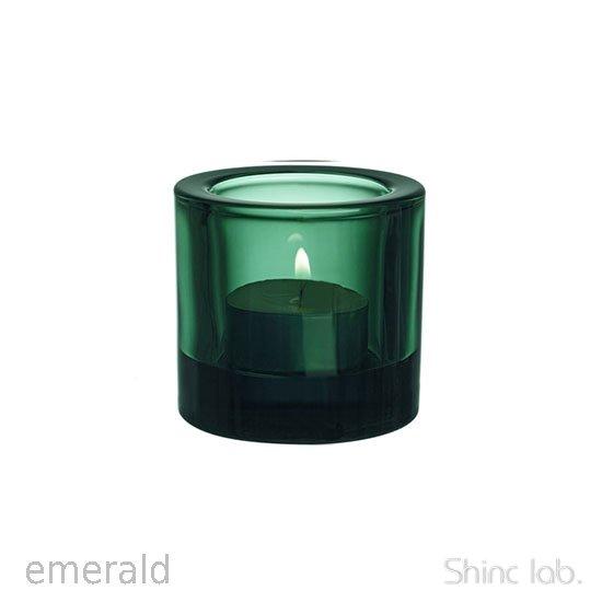 iittala Kivi キャンドルホルダー 60mm Emerald