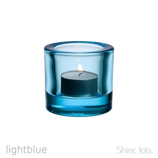 iittala Kivi キャンドルホルダー 60mm Light blue