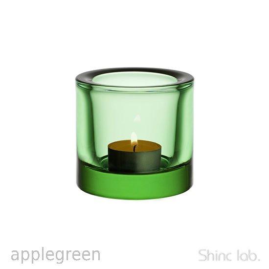 iittala Kivi キャンドルホルダー 60mm Apple green