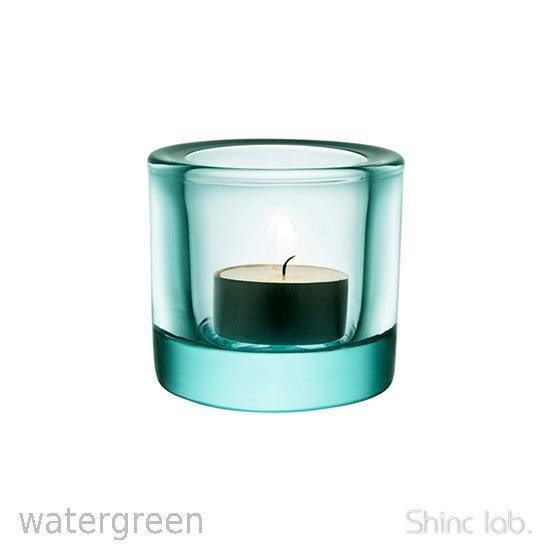 iittala Kivi キャンドルホルダー 60mm Water green