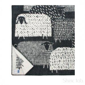 LAPUAN KANKURIT ブランケット PAKAPAAT 90×130cm ブラック