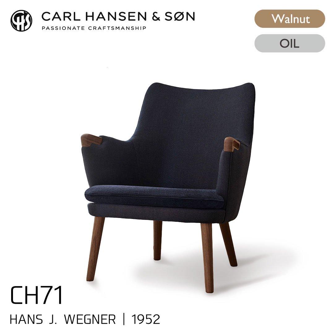 カールハンセン&サン CH71/復刻ミニベアチェア ウォルナット材・オイルフィニッシュ