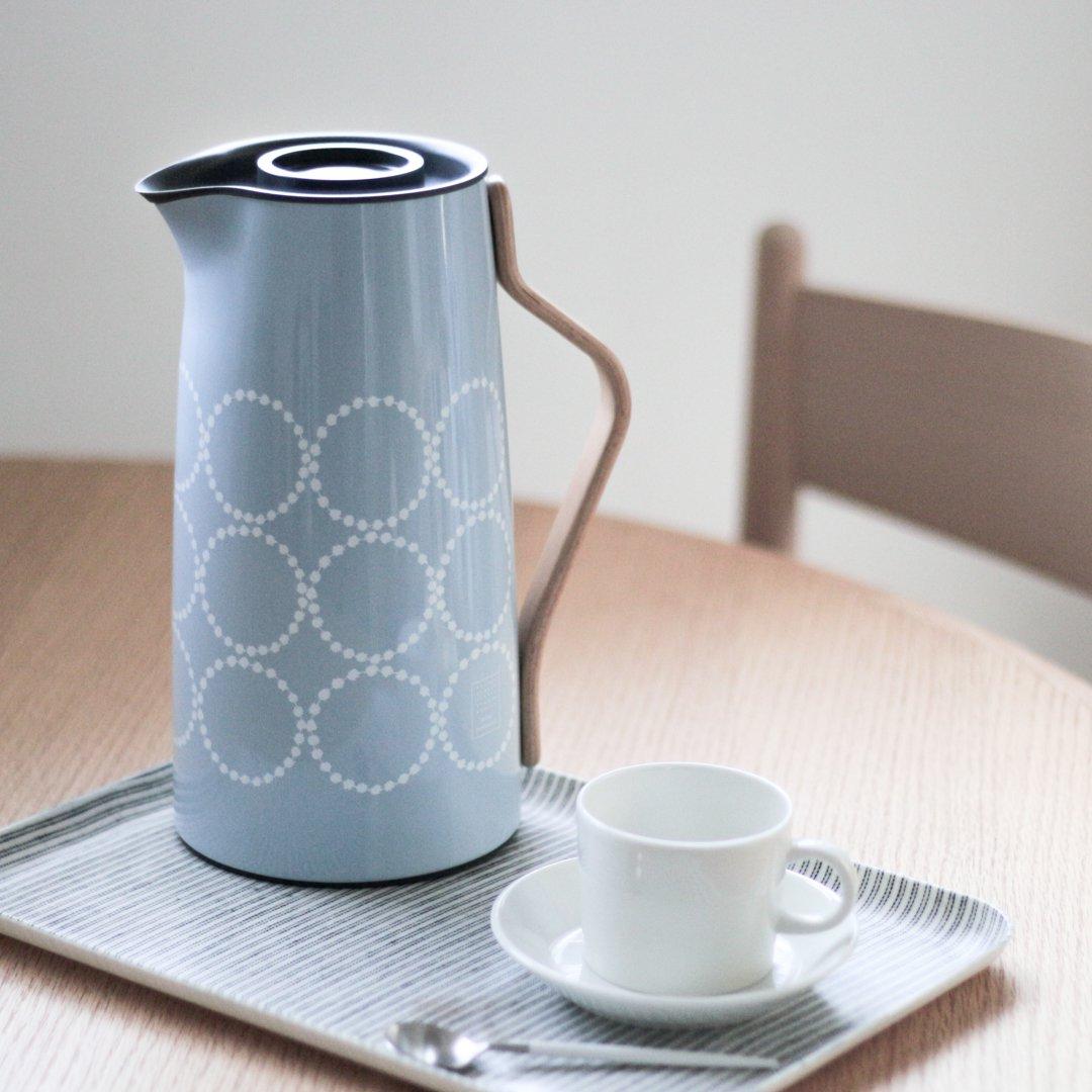 【数量限定】Stelton エマ ミナペルホネン バキュームジャグ1.2L (コーヒー)