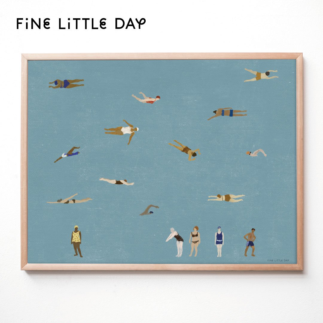 Fine Little Day ポスター SWIMMERS  70×50cm