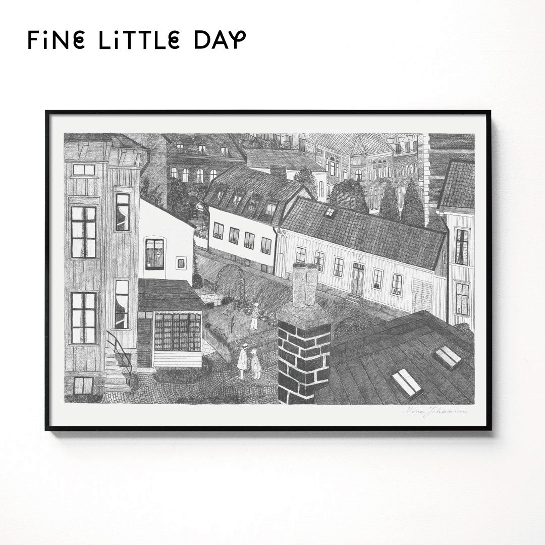 Fine Little Day ポスター HUS  50×70cm