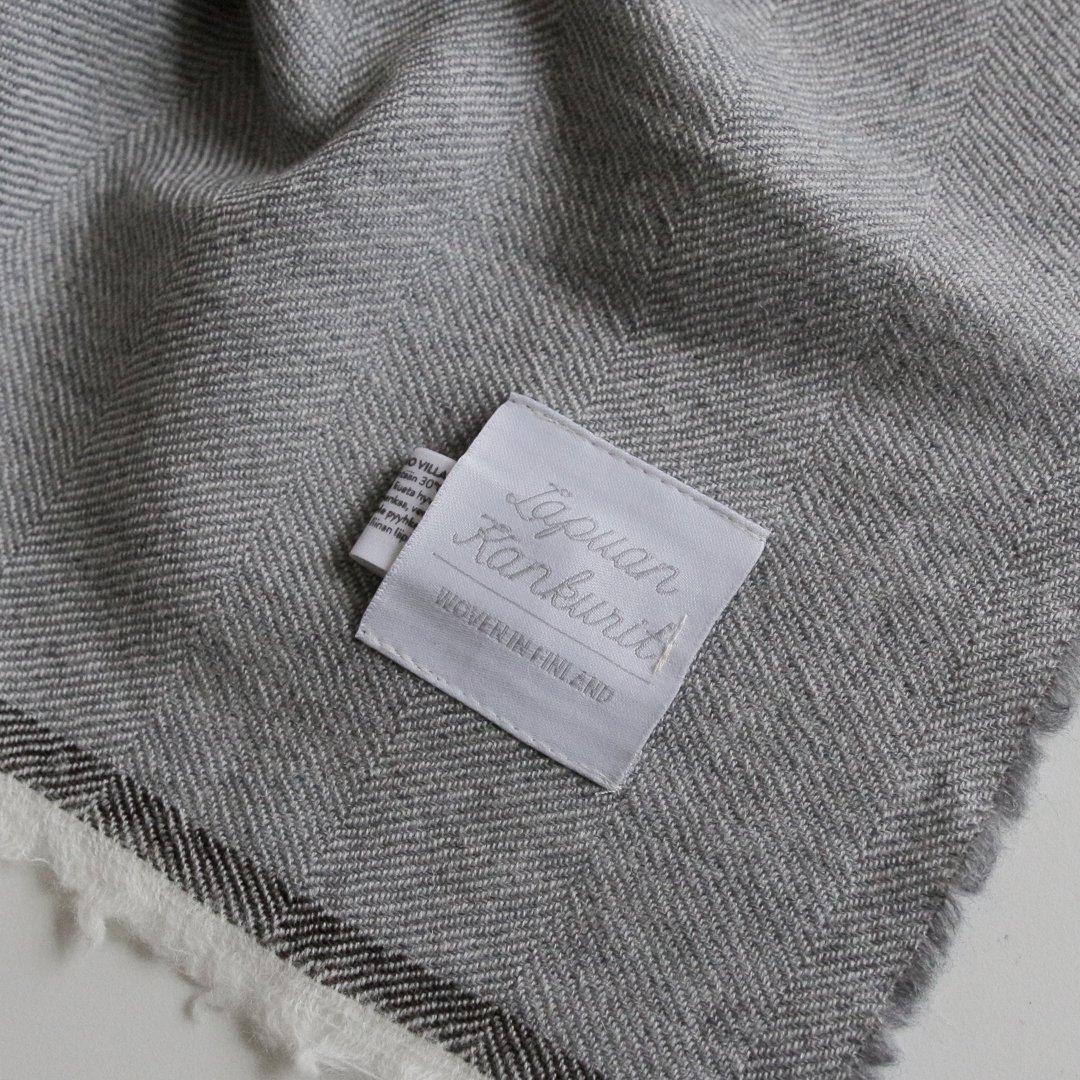 LAPUAN KANKURIT スカーフ VIIRU 75×220cm グレー