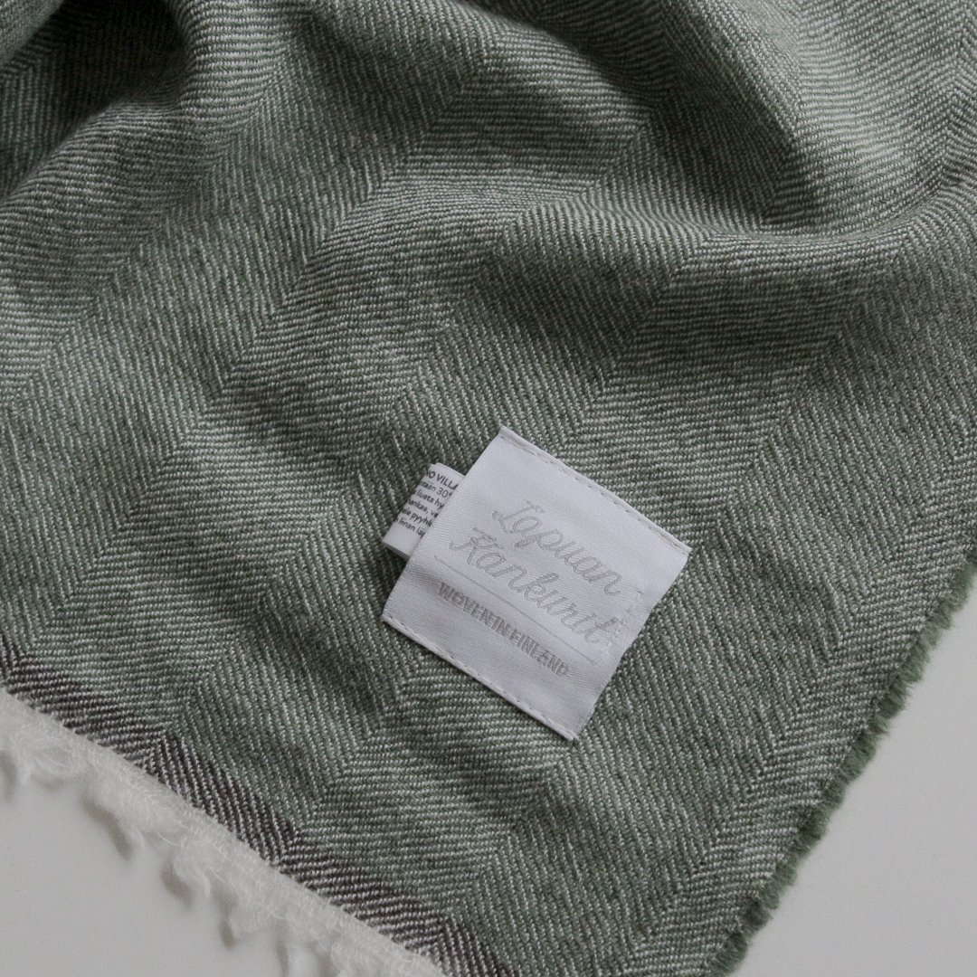 LAPUAN KANKURIT スカーフ VIIRU 75×220cm グリーン