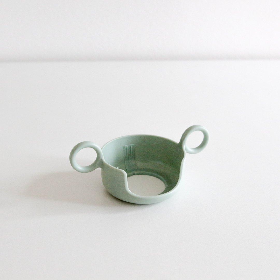 DESIGN LETTERS メラミンカップ用ハンドル/グリーン