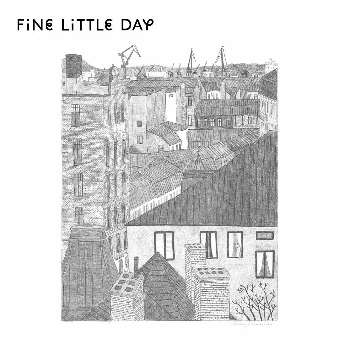 Fine Little Day ポスター HAMNEN 50×70cm
