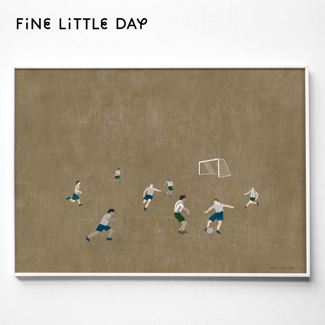 Fine Little Day ポスター SOCCER 70×50cm