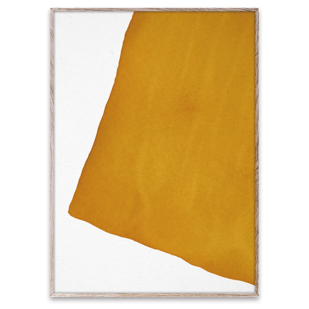 PAPER COLLECTIVE(ペーパーコレクティブ)フォトポスター 50×70cm Enso-Yellow