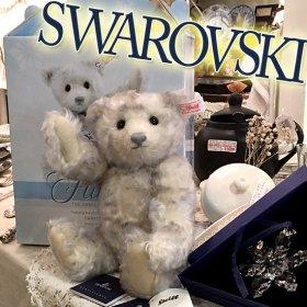 2008年度 * 北アメリカ限定 * スワロフスキー社とのコラボ・シリーズ第5弾 *「フルーリー/ Flurrie - The 2008 Swarovski Teddy Bear」【 S-1823 】<img class='new_mark_img2' src='https://img.shop-pro.jp/img/new/icons11.gif' style='border:none;display:inline;margin:0px;padding:0px;width:auto;' />