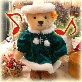 2002年 * クリスマス限定250体のみ *「 ジャパンサンタ・テディ 2002 * Japan Santa Teddy 2002 」*【 S-1835 】<img class='new_mark_img2' src='https://img.shop-pro.jp/img/new/icons5.gif' style='border:none;display:inline;margin:0px;padding:0px;width:auto;' />