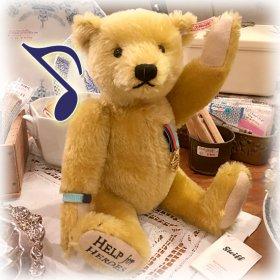 2011年度 * ダンバリーミントとのコラボ・ベア * Danbury Mint *「ヘルプフォーヒーローズ・テディベア / HELP for HEROES Teddy Bear」【 S-1871 】<img class='new_mark_img2' src='https://img.shop-pro.jp/img/new/icons11.gif' style='border:none;display:inline;margin:0px;padding:0px;width:auto;' />