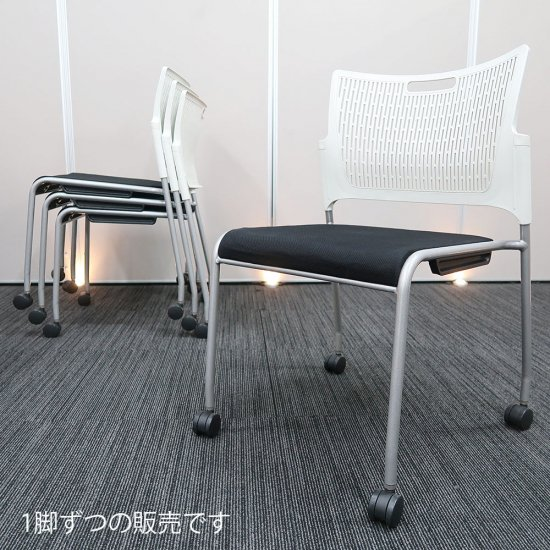 【薄くて軽いのに、座り心地の良いチェア】【中古】オカムラ/RETE(レーテ)