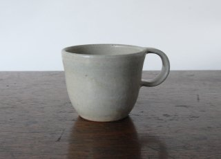 白緑釉コーヒーカップ|三木あゆみ