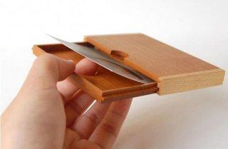 木のカードケース|ヨネモノ