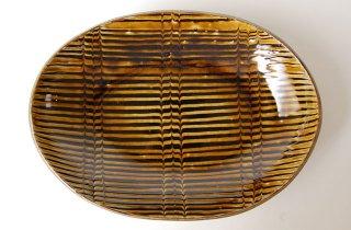 楕円カレー皿|やまぽた