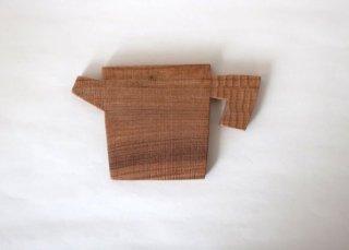 木のコースター(ポット)|icura