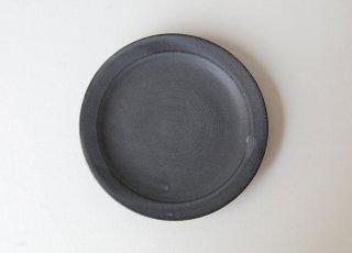 黒泥皿 4寸|3rd ceramics