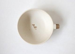 どうぶつスープカップ・とり|三木あゆみ