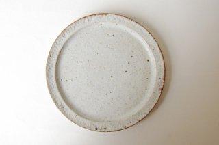 波紋6.5寸皿・白|伊藤豊
