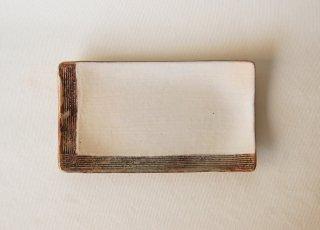 L彫 焼物皿|古谷浩一