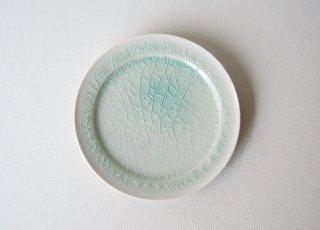 Φ15�皿 green|藤内紗恵子