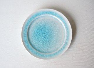 Φ15�皿 blue|藤内紗恵子