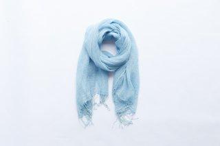 ストール リネン(大) 藍生葉