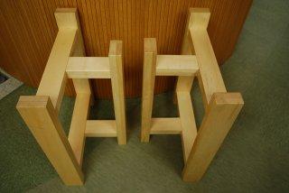 テーブル脚 メープル