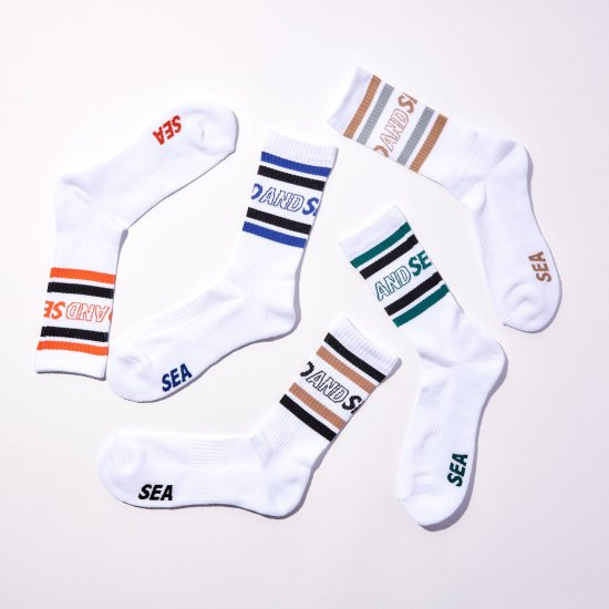 WIND AND SEA×CHICSTOCKS  SKATE SOX