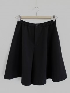 フレアーキュロットスカート型紙