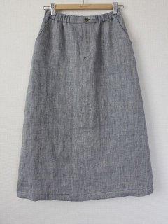 セミタイトロングスカート型紙
