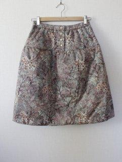 綿入り切替スカート型紙