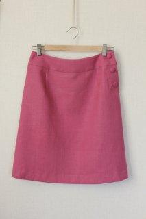 ボタンあきスカート型紙