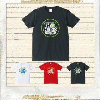 NO NUKES RIGHTS サークルTシャツ