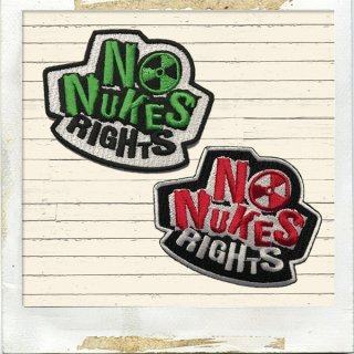 NO NUKES RIGHTS ワッペン